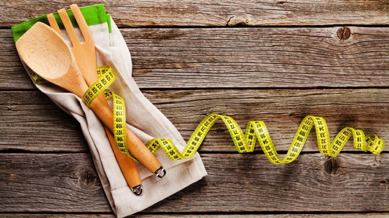 dieta para adelgazar cubiertos