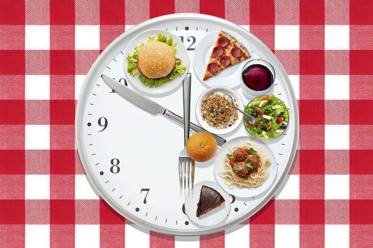 dieta para adelgazar reloj