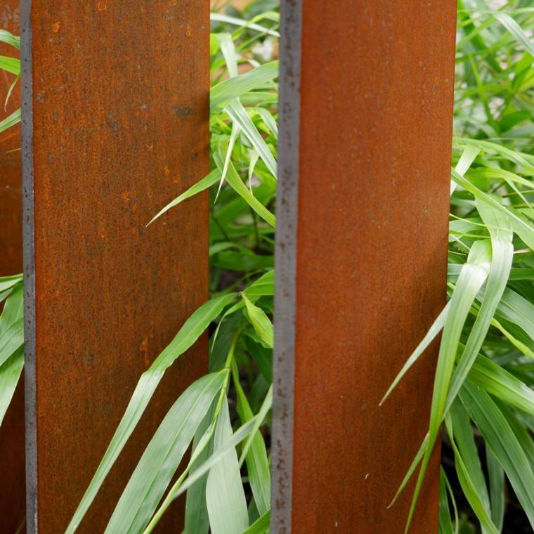 diseño de jardines uso de madera