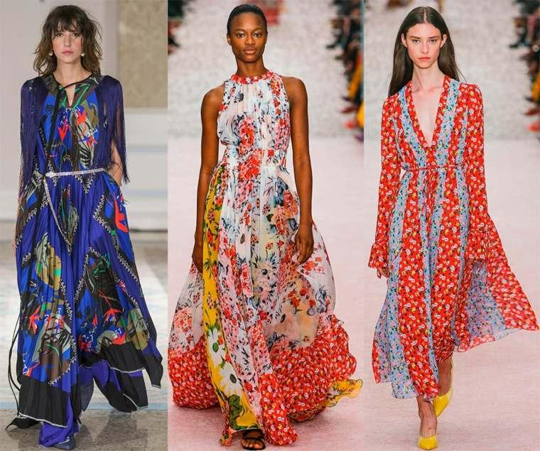026c95c81635 View in gallery disenos-ropa-moda-estilo-vestidos-verano-2019 Moda  primavera verano 2019 – Las tendencias en ropa de mujer ...