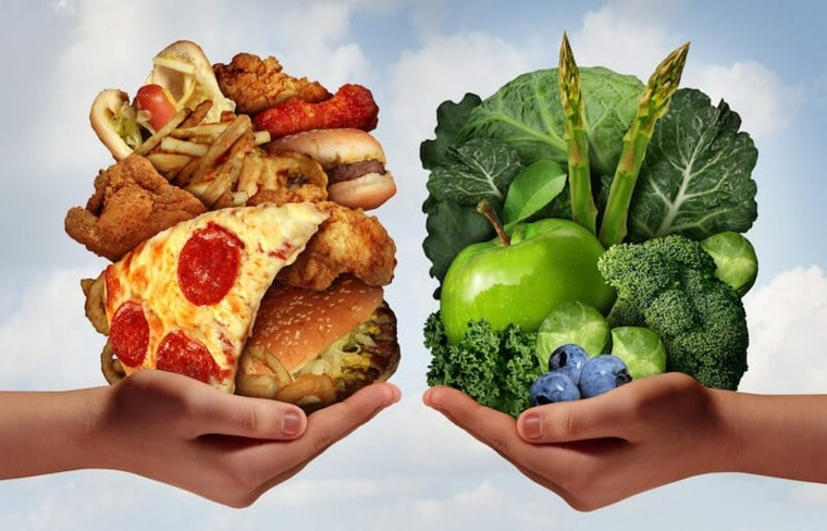 elegir comida saludable