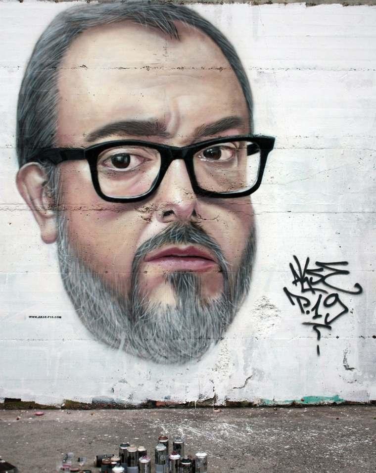 graffiti retrato