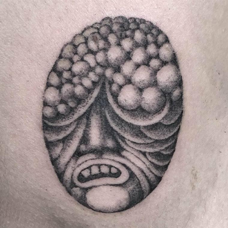 ideas de tatuajes máscara