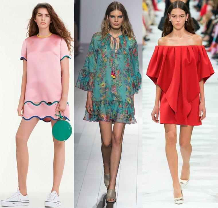ideas-vestido-cortos-femenina-primavera-verano