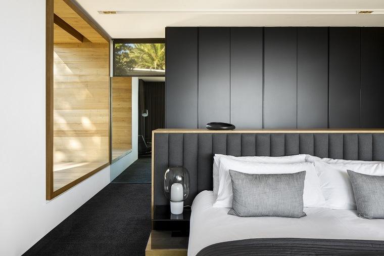 Dormitorio de estilo moderno