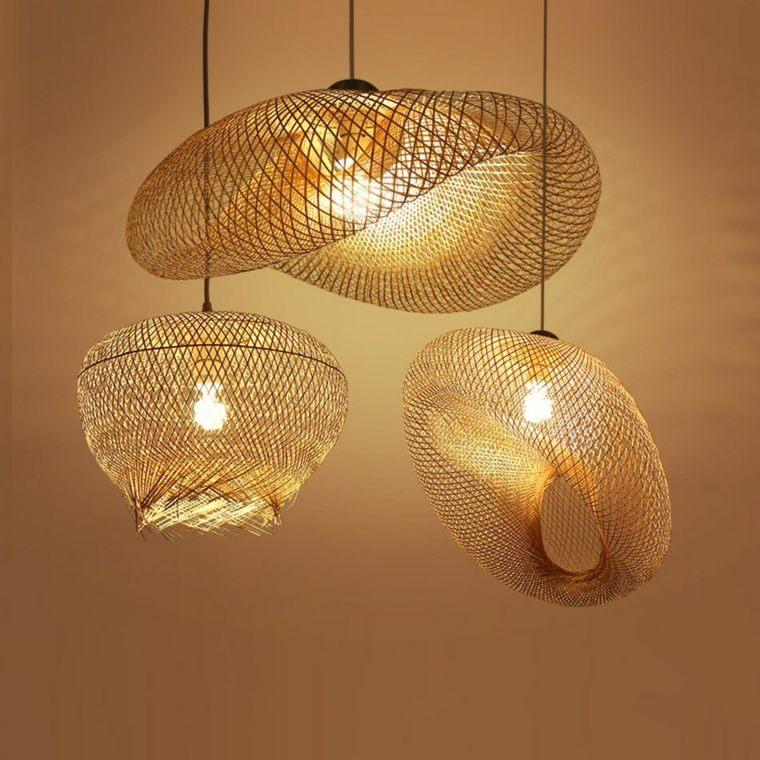 lamparas-de-mimbre-ideas-estilo-rustico-japones