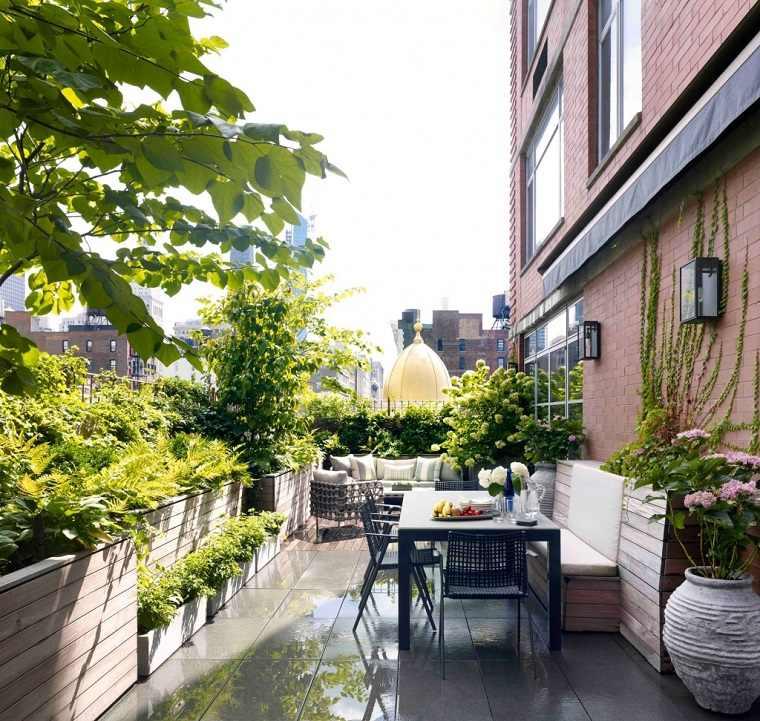 Cómo Decorar Una Terraza Pequeña Y Pasar Tiempo Al Aire Libre