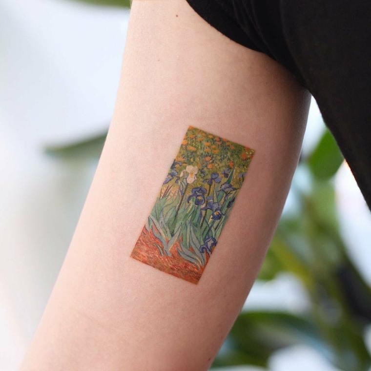 tatuajes en tendencia acuarela