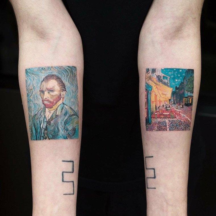tatuajes en tendencia acuarelas