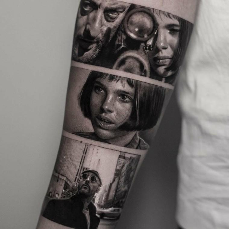 tatuajes en tendencia del cine