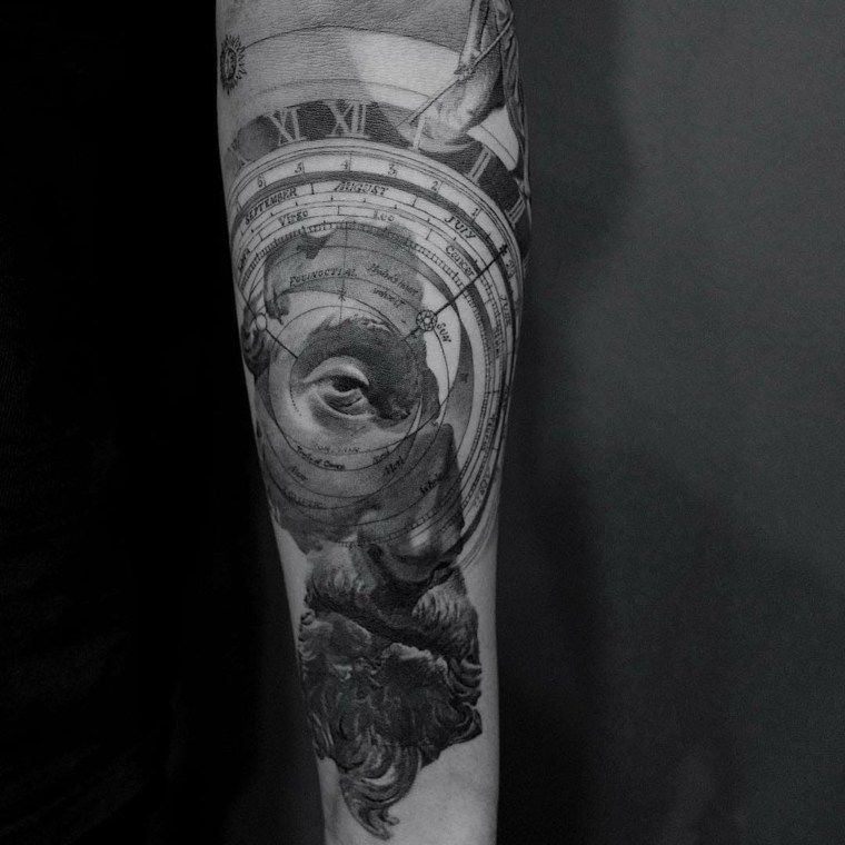tatuajes modernos brazo
