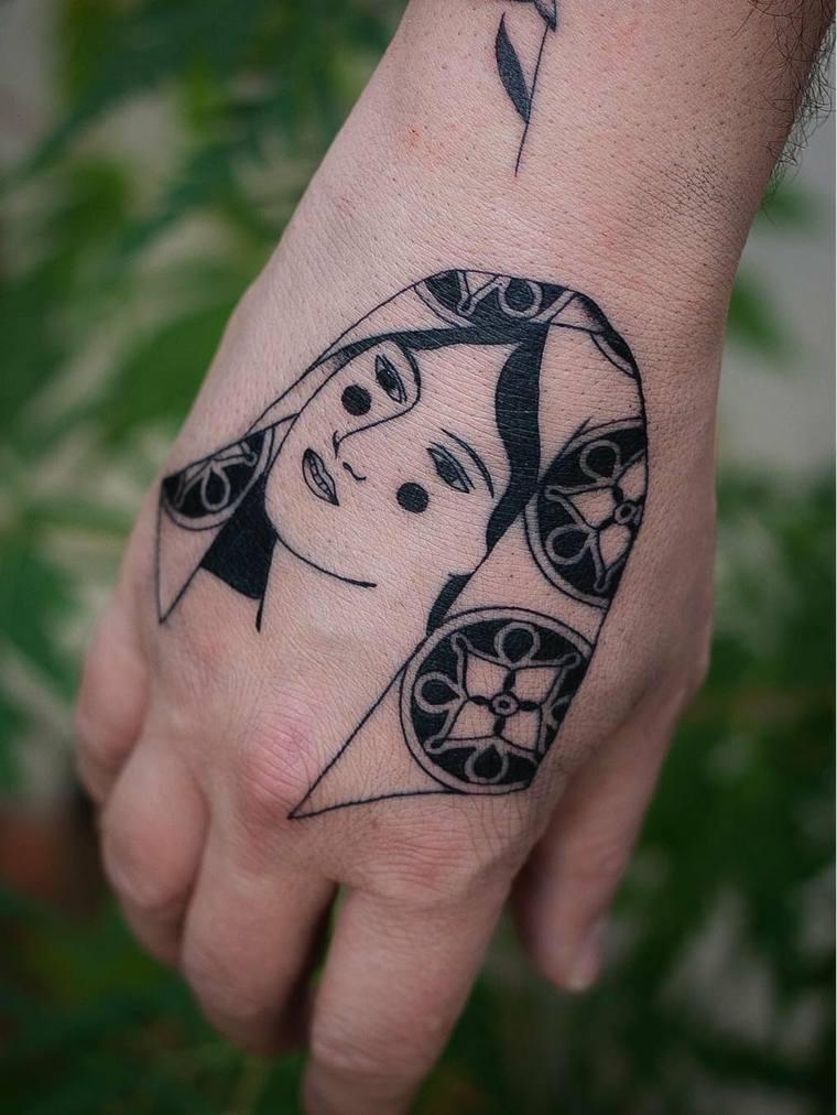 tatuajes modernos gráficos