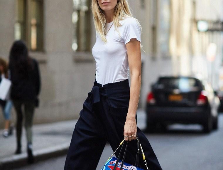 accesorios de moda 2019-camiseta-blanca-ideas