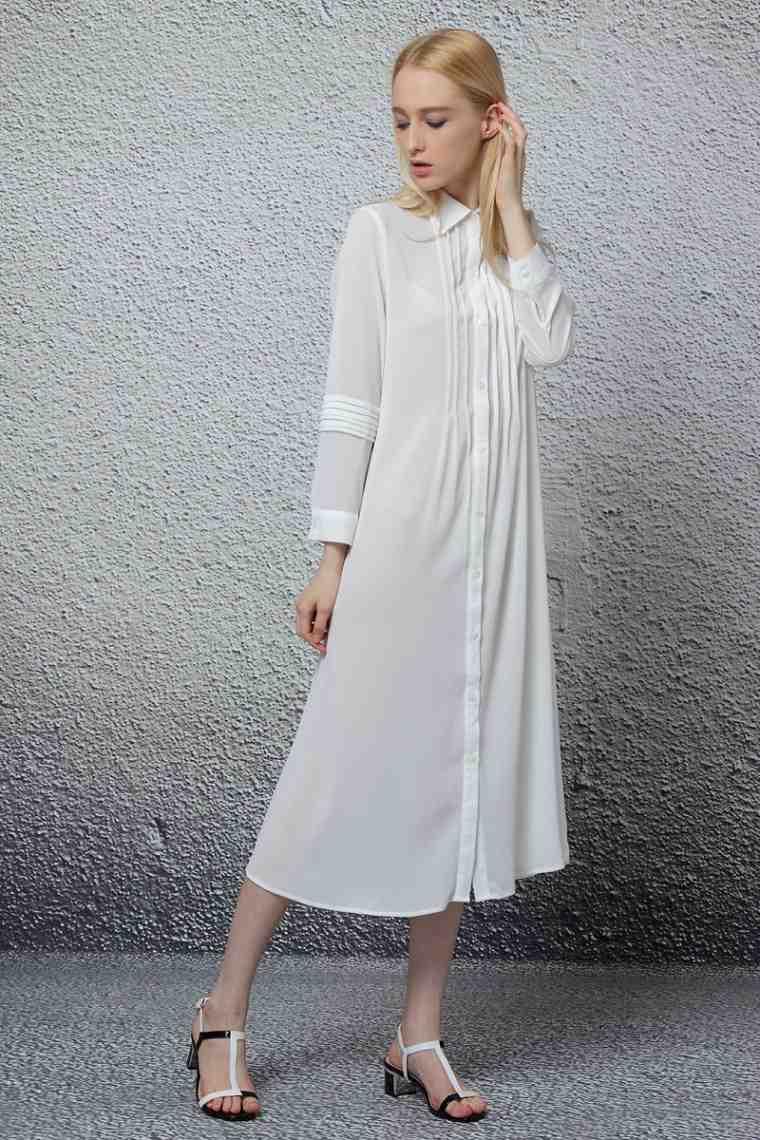 accesorios-de-moda-2019-vestido-tipo-camisa-largo