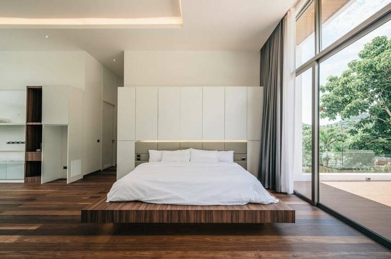 casas-modernas-interior-exterior-Flat12x-dormitorio-ideas