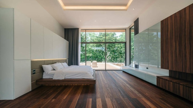 casas-modernas-interior-exterior-Flat12x-dormitorio
