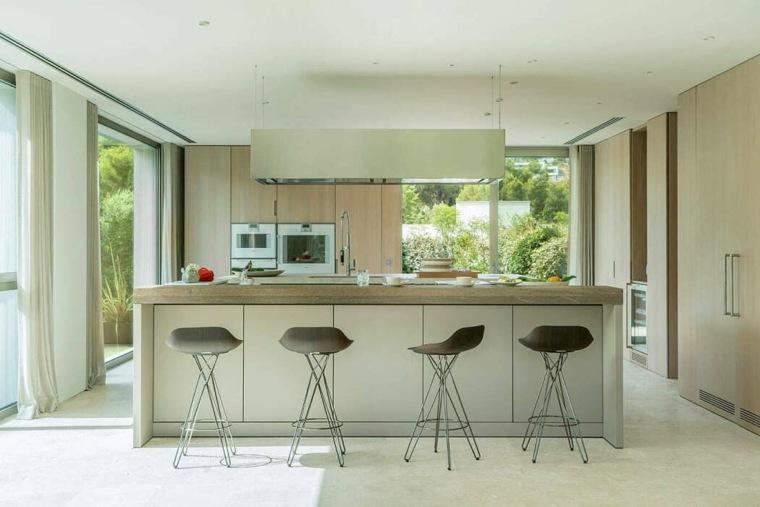 casas-modernas-interior-exterior-Terraza-Balear-cocina