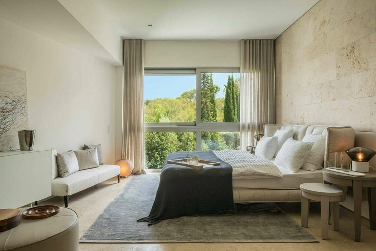 casas-modernas-interior-exterior-Terraza-Balear-dormitorio