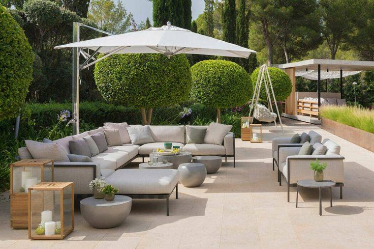 casas-modernas-interior-exterior-Terraza-Balear-jardin