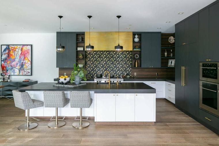 casas-modernas-interior-y-exterior-Erica-Bryen-Design-cocina