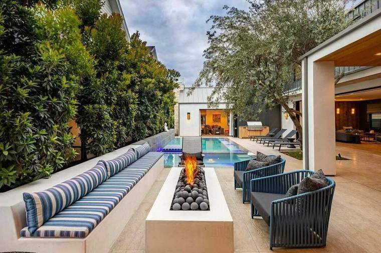 casas-modernas-interior-y-exterior-Erica-Bryen-Design-jardin