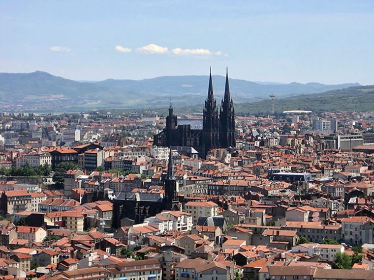 catedral Clermont Ferrand Francia