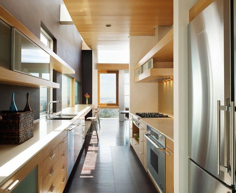 cocina-diseno-opciones-espacio-estrecho