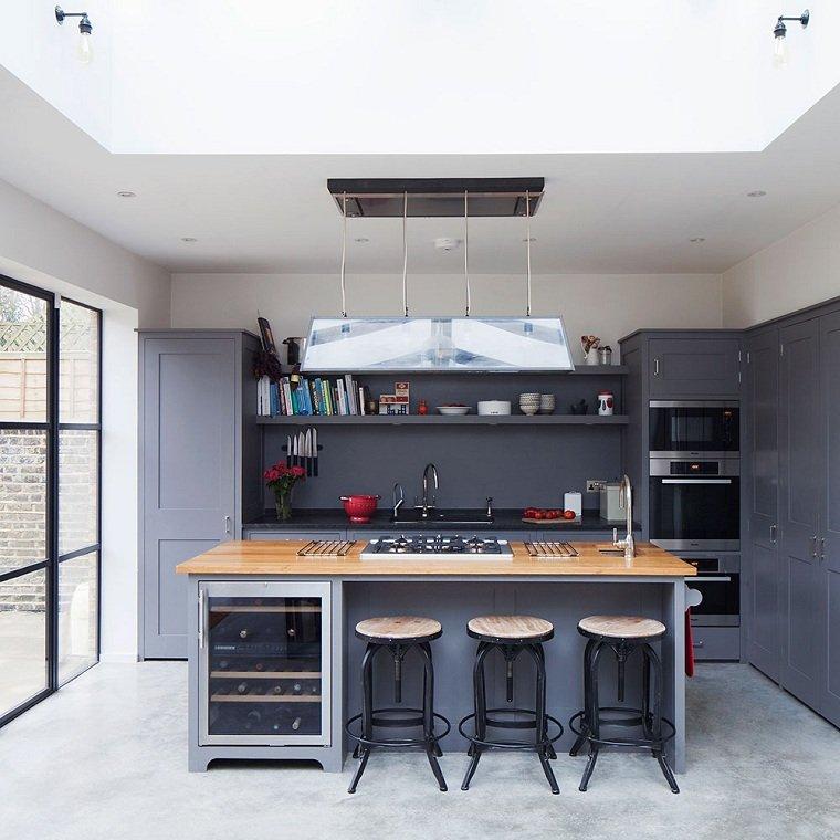 gabinetes de cocina blancos con encimeras de esteatita Tipos De Encimeras De Cocina Para Que Pueda Hacer La Mejor