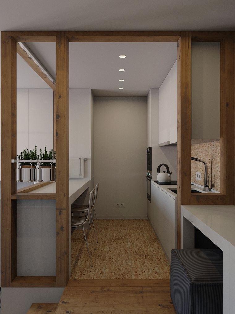 cocina-larga-ideas-abrir-espacio