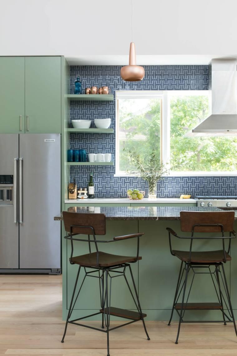 cocina-muebles-pared-ideas-estilo-eclectico