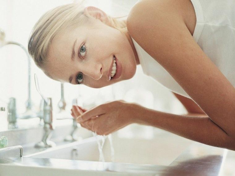 cómo limpiar la cara -bien