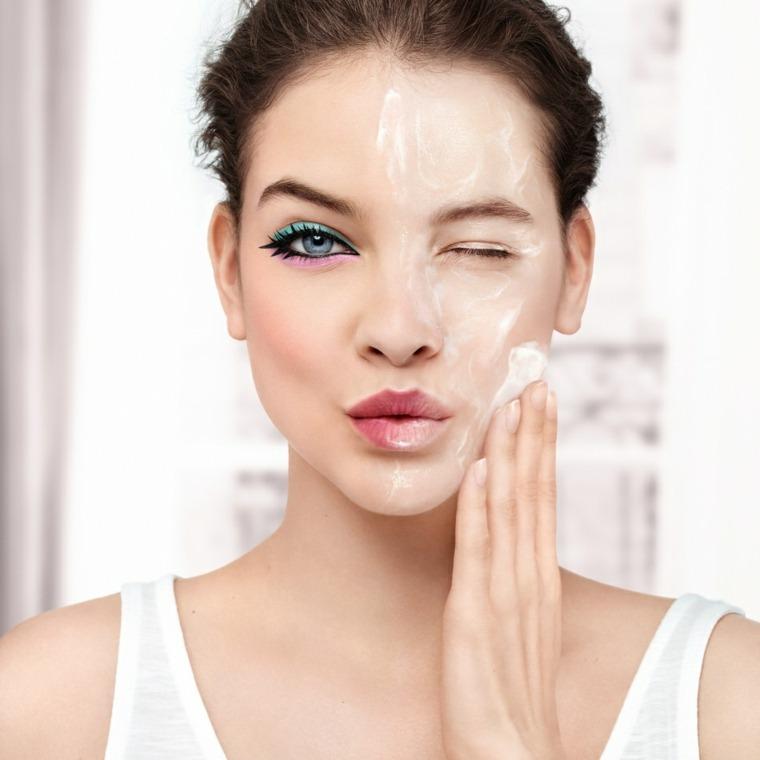 cómo limpiar la cara-maquillaje-consejos