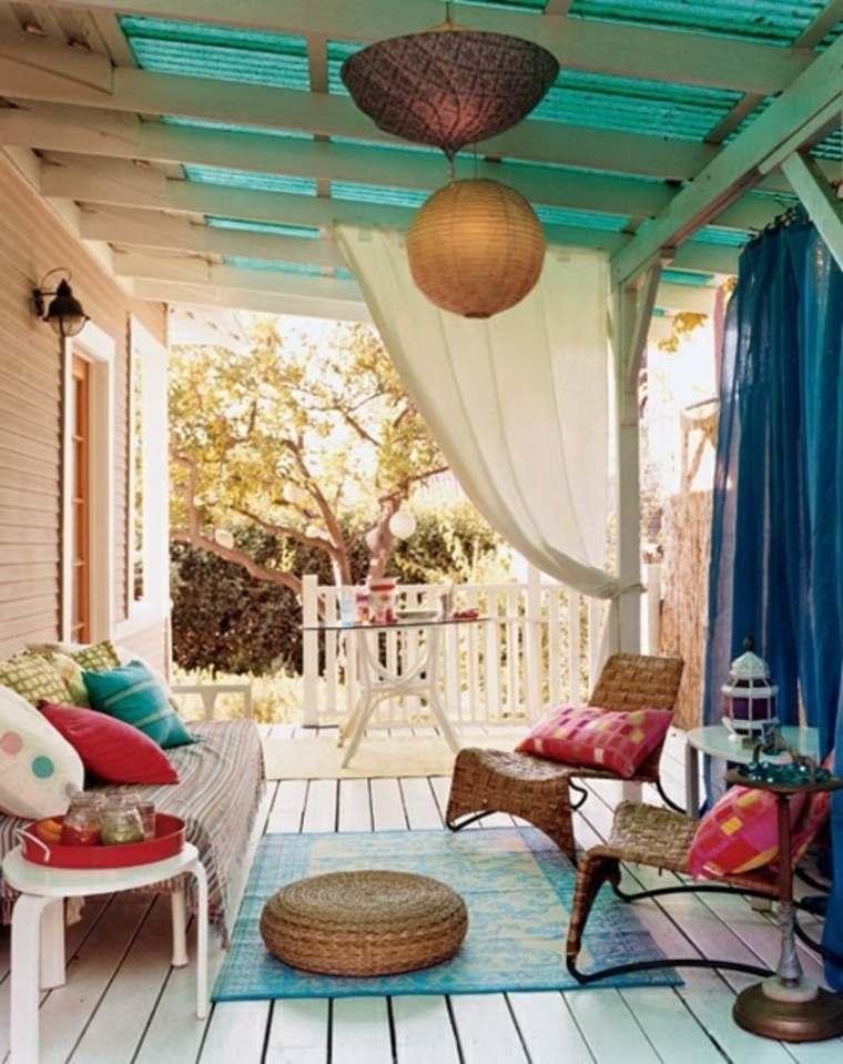 ideas decoración jardin