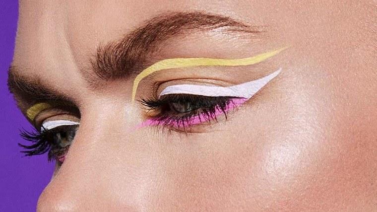 delineadores de ojos-coloridos-tendencias