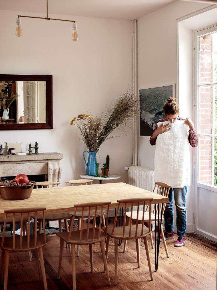 diseñar cocina Ikea-casa-privada-Paris-comedor