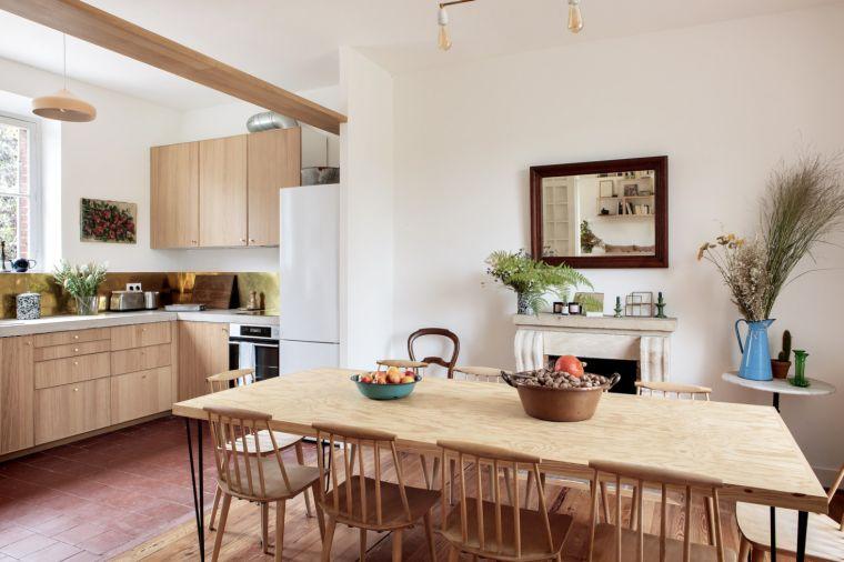 disenar-cocina-ikea-casa-privada-Paris-madera