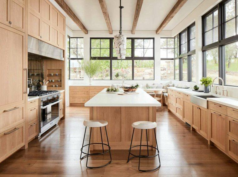 diseno-casa-estilo-moda-Amy-A-Alper-cocina