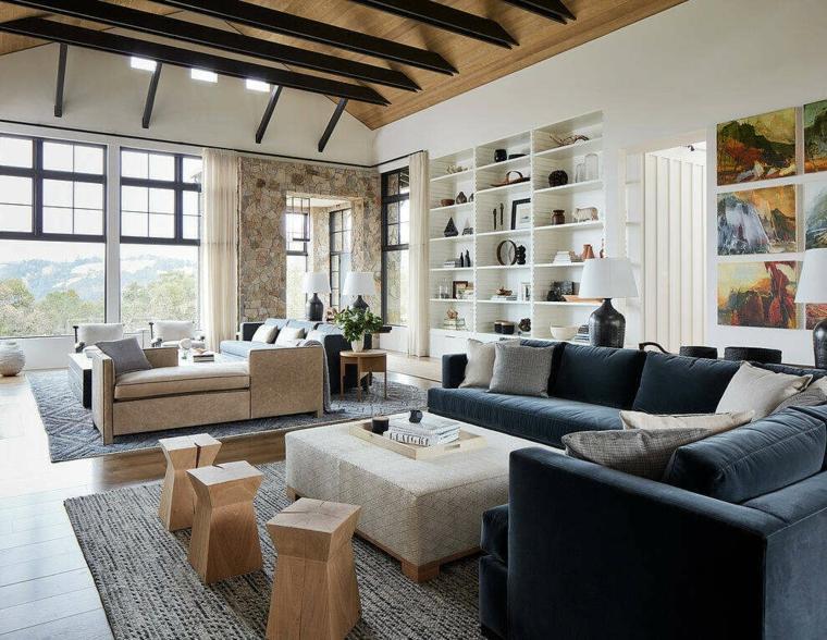diseno-casa-estilo-moda-Amy-A-Alper-interior-sala