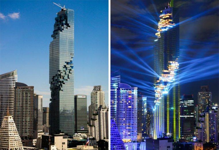 edificios Mahanakhon torre Bangkok