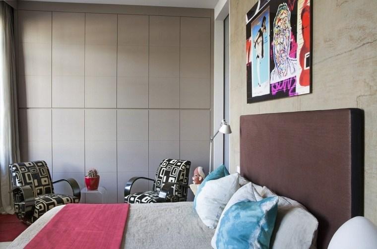 estilo ecléctico diseno-dormitorio-ideas