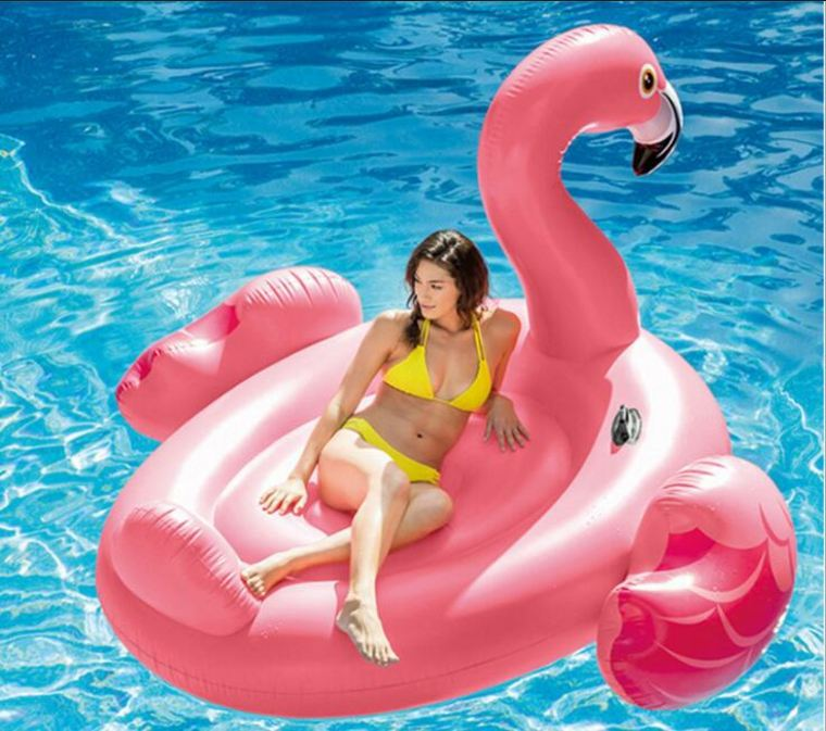 flamingo inflable