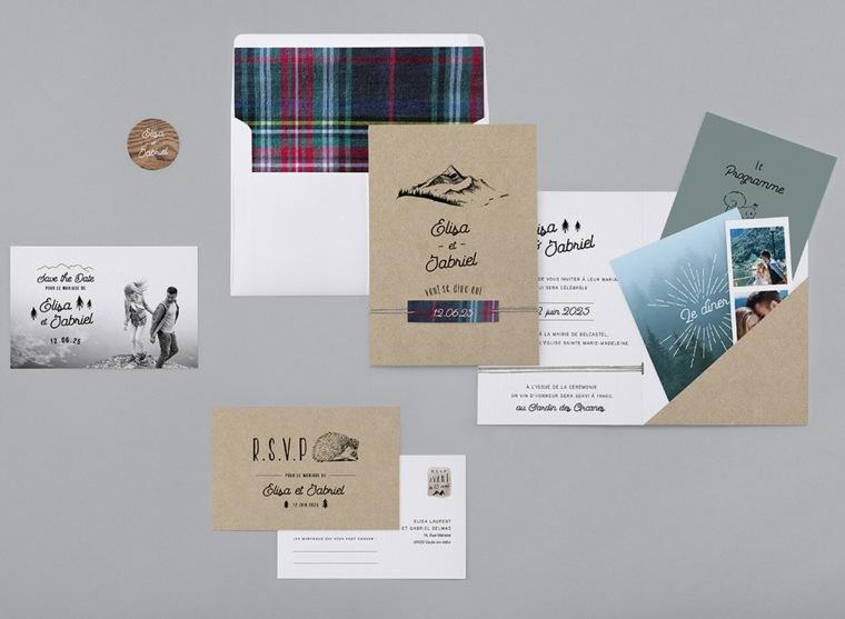 invitaciones de boda rústicas-estilo-original