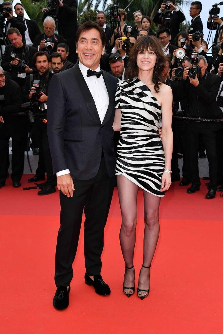 Javier Bardem y Charlotte Gainsbourg