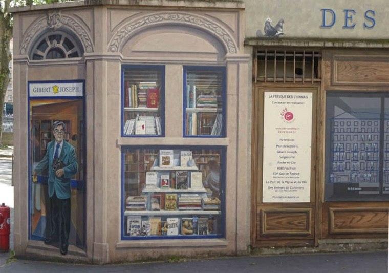 mural de libreria