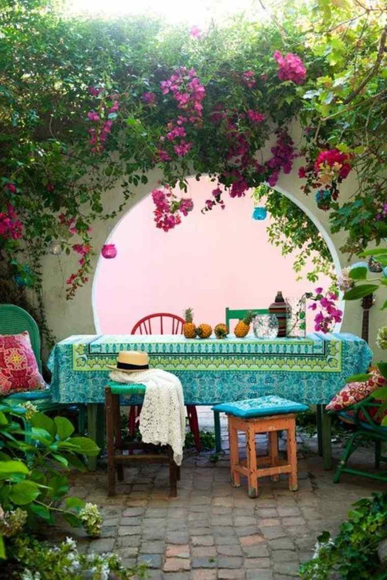 ideas decoración patio