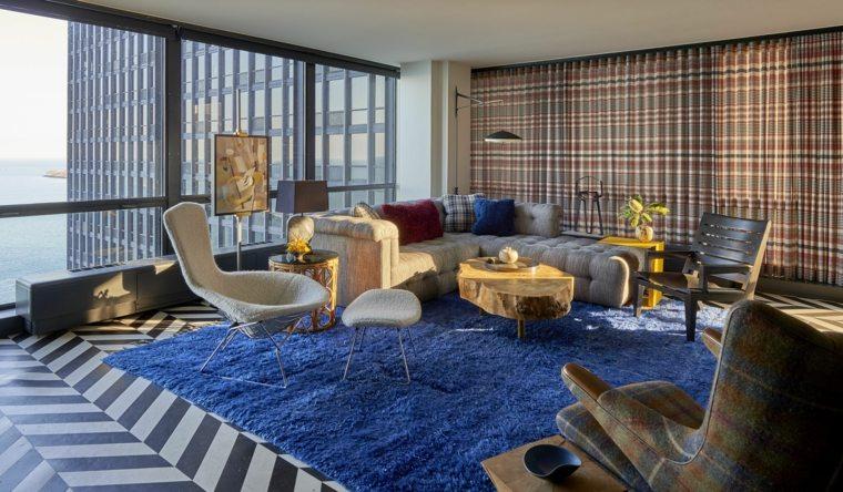 muebles de sala modernos 2019-combinar-colores