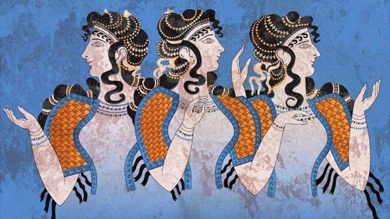 Mural de la Antigua Grecia
