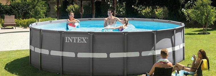 piscinas desmontables intex