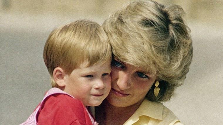 princesa-Diana-con-su-hijo