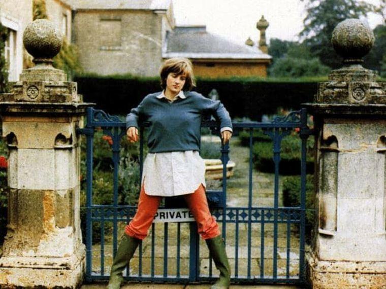 princesa Diana en Althorp